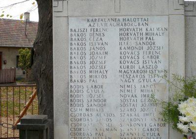 Káptalanfa világháborús emlékmű 2013.10.30. küldő-Sümec (2)
