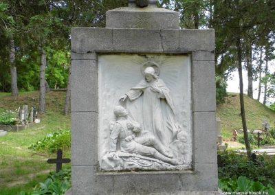 Káptalantóti I. vh. Alsó temető, Szép kereszt