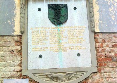 Kátoly I.vh emléktábla 2012.04.13. küldő-Turul 68