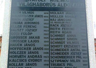 Kátoly II.vh emléktábla 2012.04.13. küldő-Turul 68 (1)