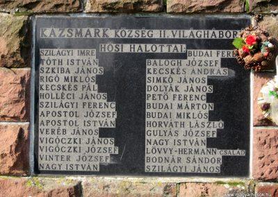 Kázsmárk világháborús emlékmű 2014.02.16. küldő-kalyhas (7)