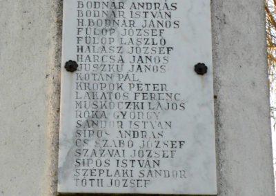 Kékcse világháborús emlékmű 2010.04.03. küldő-Ágca (7)