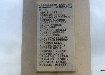 Kékcse világháborús emlékmű 2017.11.01. küldő-Eszterhai Zsuzsa (1)