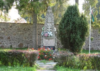 Kéked világháborús emlékmű 2009.08.02.küldő-megtorló