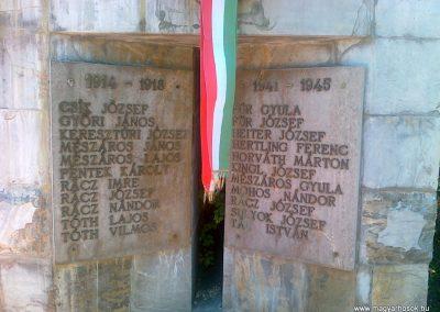 Kékkút világháborús emlékmű 2010.08.12. küldő-Csiszár Lehel (2)