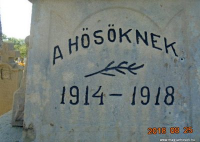 Kézdialmás világháborús emlékmű 2018.08.25. küldő-Fehér Mónika (2)