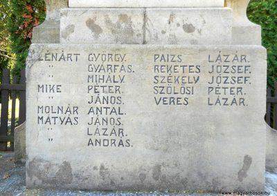 Kézdialmás világháborús emlékmű 2019.06.11. küldő-Fehér Mónika (5)