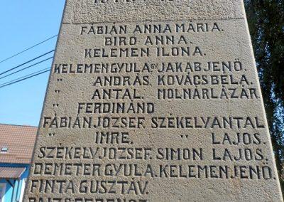 Kézdialmás világháborús emlékmű 2019.06.11. küldő-Fehér Mónika (7)