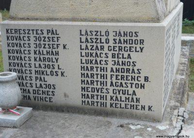 Kézdiszentlélek hősi emlékmű 2009.08.20. küldő-Ágca (12)