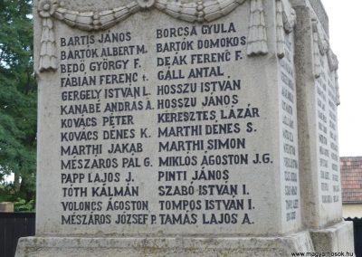Kézdiszentlélek hősi emlékmű 2009.08.20. küldő-Ágca (8)
