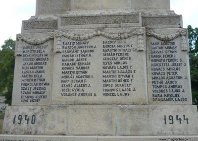 Kézdiszentlélek hősi emlékmű 2009.08.20. küldő-Ágca (9)