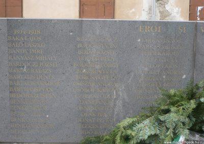 Kézdivásárhely Hősi emlékmű 2008.10.25.küldő -Ágca (2)