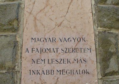 Kóspallag világháborús emlékmű 2006.09.10. küldő-Pfaff László, Rétság (3)
