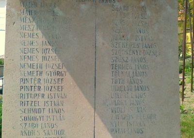 Kölesd világháborús emlékmű 2011.05.25. küldő-Csiszár Lehel (5)