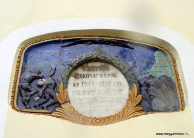 Kömlőd világháborús emléktáblák 2012.04.07. küldő-Méri