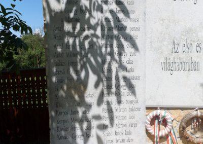 Körösfő világháborús emlékmű 2018.07.11. küldő-Bóta Sándor (3)