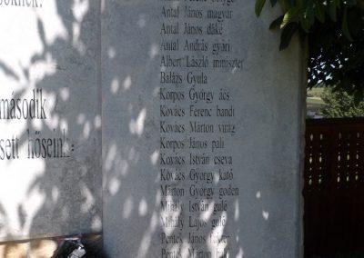 Körösfő világháborús emlékmű 2018.07.11. küldő-Bóta Sándor (5)