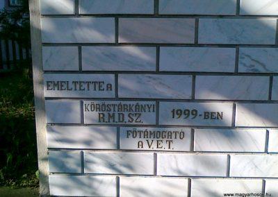 Köröstárkány hősi emlékmű 2011.08.11.küldő-Csiszár Lehel (6)