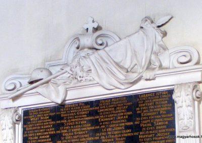 Környe róm. kat. templom I.világháborús emlékmű 2012.09.09. küldő-Méri (2)