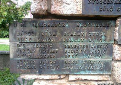 Körtvélyes világháborús emlékmű 2012.07.12. küldő-Pataki Tamás (5)