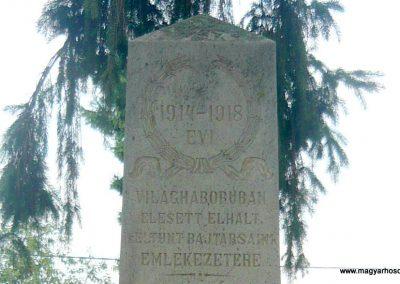 Körtvélyfája világháborús emlékmű 2010.08.08. küldő-Szabó Nándor (1)