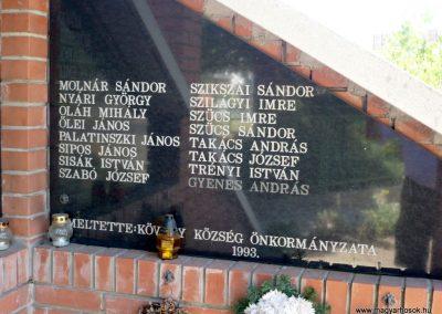 Kövegy II. világháborús emlékmű 2012.07.14. küldő-Sümec (4)