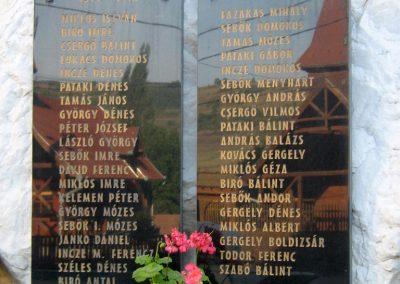 Küküllőkeményfalva világháborús emlékmű 2011.09.20. küldő-Mónika39 (1)