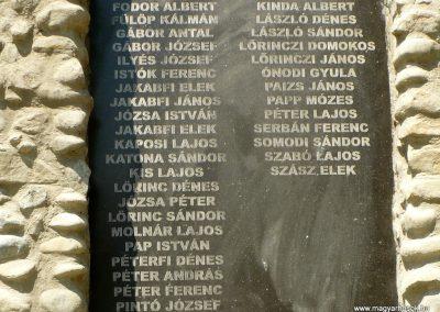 Kőrispatak világháborús emlékmű 2014.07.20. küldő-Gombóc Arthur (3)
