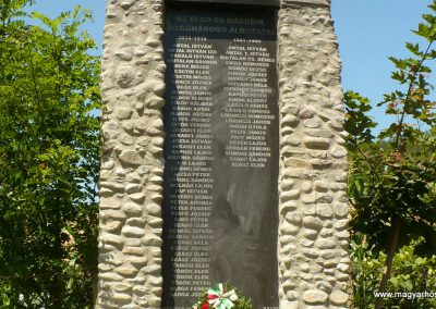 Kőrispatak világháborús emlékmű 2014.07.20. küldő-Gombóc Arthur (6)