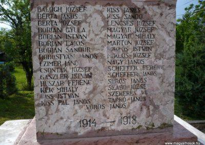 Kőszárhegy világháborús emlékmű 2010.05.30. küldő-Sümec (3)