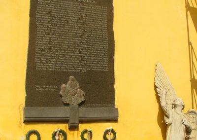 Kőszeg II.vh emléktábla 2011.09.24. küldő-ERA