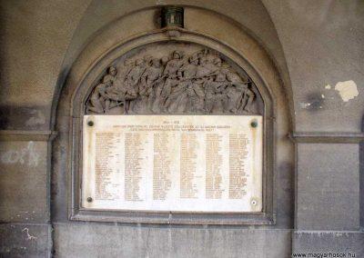 Kőszeg világháborús emlékfal 2007.12.08.küldő-HunMi