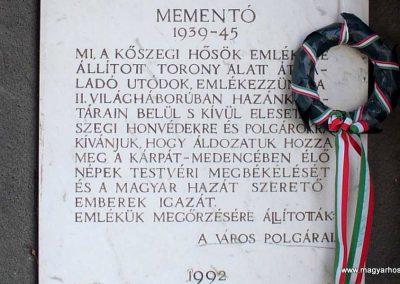 Kőszeg világháborús emlékfal 2007.12.08.küldő-HunMi (5)