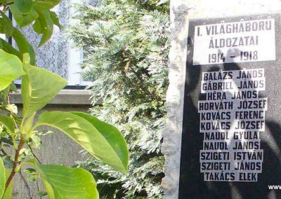 Kőszegszerdahely világháborús emlékmű 2007.08.29. küldő-HunMi (2)