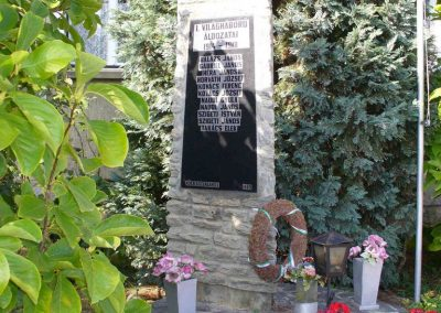 Kőszegszerdahely világháborús emlékmű 2007.08.29.küldő-HunMi (1)