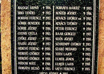 Kővágószőlős világháborús emlékmű 2012.01.29. küldő-Turul 68 (5)