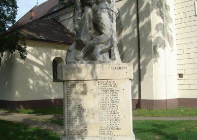 Kaba I.vh emlékmű 2009.05.16.küldő-Huszár Peti