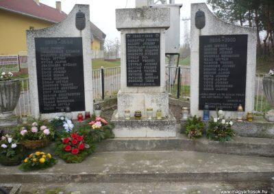 Kacorlak Hősi emlékmű 2009.11.21. küldő-Sümec (1)