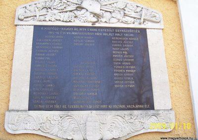 Kajárpéc világháborús emléktáblák 2009.01.10.küldő-Ancsa84 (2)