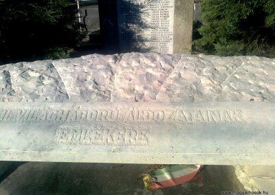 Kajászó világháborús emlékmű 2011.06.25. küldő-Bajnok (5)