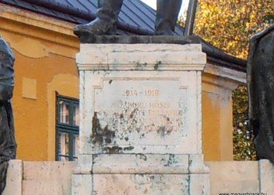 Kalocsa I. világháborús emlékmű 2012.10.22. küldő-Bagoly András (3)