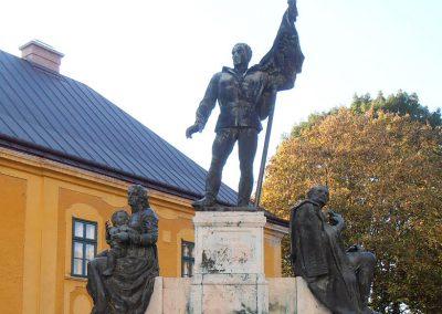Kalocsa I. világháborús emlékmű 2012.10.22. küldő-Bagoly András (5)