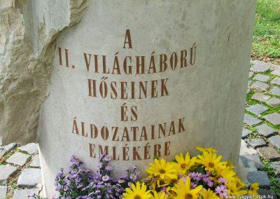 Kalocsa II.vh emlékmű 2007.10.07.küldő-Markó Péter (1)
