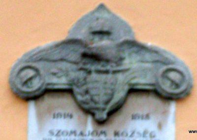 Kaposfő _ régi nevén Szomajom _ I.vh emléktábla 2008.06.23.küldő-Nerr (2)