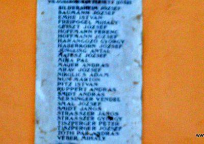 Kaposfő _ régi nevén Szomajom _ I.vh emléktábla 2008.06.23.küldő-Nerr (3)