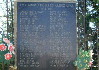 Kaposfő világháborús emlékmű 2007.06.23. küldő-Zsók (3)
