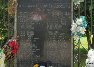 Kaposfő világháborús emlékmű 2007.06.23. küldő-Zsók (4)