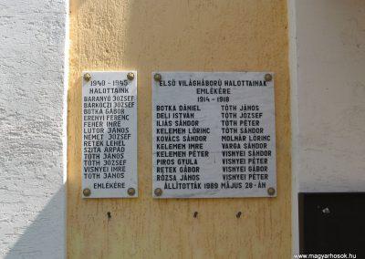 Kapospula világháborús emléktáblák 2009.04.04. küldő-kalyhas (2)