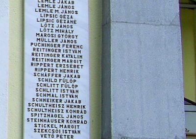 Kaposszekcső világháborús emléktáblák 2006.05.09.küldő-Horváth Zsolt (5)