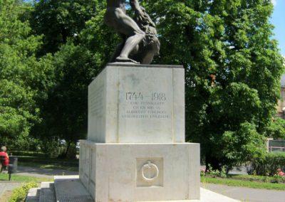 Kaposvár 44-es gyalogezred emlékműve 2016.07.19. küldő-Emese (1)